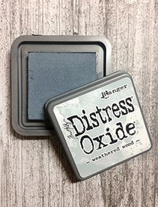 Tim Holtz Distress® Oxide® Ink Pad Weathered Wood Ink Pad Tim Holtz