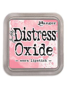 Tim Holtz Distress® Oxide® Ink Pad Worn Lipstick