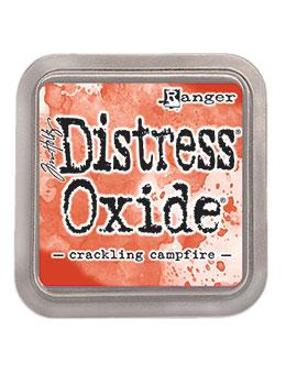 Tim Holtz Distress® Oxide® Ink Pad Crackling Campfire Ink Pad Distress