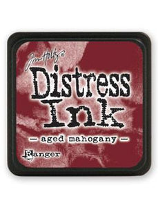Tim Holtz Mini Distress® Ink Pad Aged Mahogany Mini Ink Pad Tim Holtz