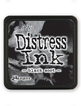 Tim Holtz Mini Distress® Ink Pad Black Soot Mini Ink Pad Tim Holtz