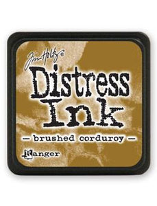 Tim Holtz Mini Distress® Ink Pad Brushed Courduroy Mini Ink Pad Tim Holtz