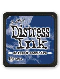 Tim Holtz Mini Distress® Ink Pad Chipped Sapphire Mini Ink Pad Tim Holtz