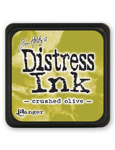 Tim Holtz Mini Distress® Ink Pad Crushed Olive