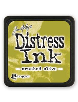 Tim Holtz Mini Distress® Ink Pad Crushed Olive Mini Ink Pad Tim Holtz