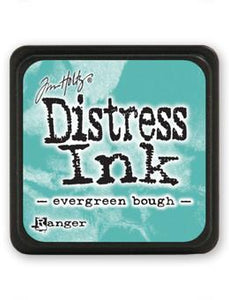 Tim Holtz Mini Distress® Ink Pad Evergreen Bough Mini Ink Pad Tim Holtz