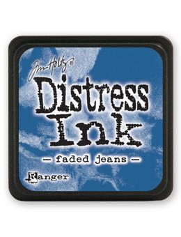Tim Holtz Mini Distress® Ink Pad Faded Jeans Mini Ink Pad Tim Holtz