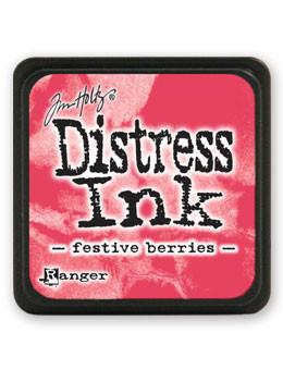 Tim Holtz Mini Distress® Ink Pad Festive Berries Mini Ink Pad Tim Holtz
