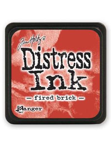 Tim Holtz Mini Distress® Ink Pad Fired Brick Mini Ink Pad Tim Holtz