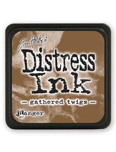 Tim Holtz Mini Distress® Ink Pad Gathered Twigs Mini Ink Pad Tim Holtz