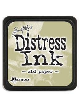 Tim Holtz Mini Distress® Ink Pad Old Paper Mini Ink Pad Tim Holtz