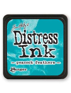 Tim Holtz Mini Distress® Ink Pad Peacock Feathers