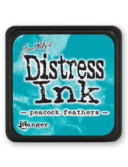 Tim Holtz Mini Distress® Ink Pad Peacock Feathers Mini Ink Pad Tim Holtz
