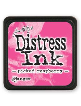 Tim Holtz Mini Distress® Ink Pad Picked Raspberry Mini Ink Pad Tim Holtz