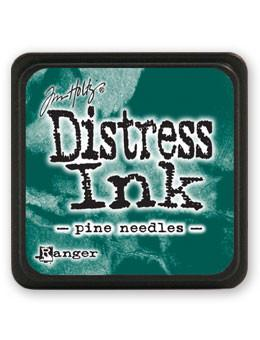 Tim Holtz Mini Distress® Ink Pad Pine Needles Mini Ink Pad Tim Holtz