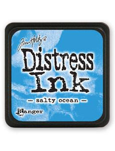 Tim Holtz Mini Distress® Ink Pad Salty Ocean Mini Ink Pad Tim Holtz