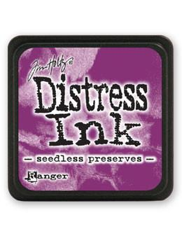 Tim Holtz Mini Distress® Ink Pad Seedless Preserves Mini Ink Pad Tim Holtz