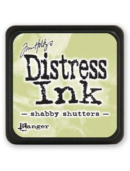 Tim Holtz Mini Distress® Ink Pad Shabby Shutters Mini Ink Pad Tim Holtz