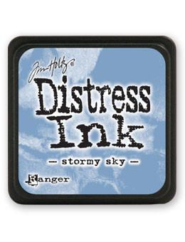 Tim Holtz Mini Distress® Ink Pad Stormy Sky Mini Ink Pad Tim Holtz