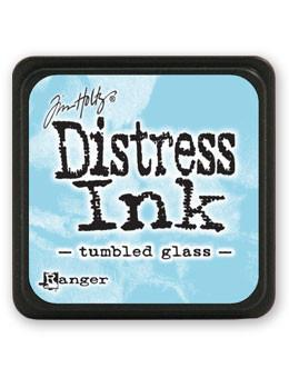 Tim Holtz Mini Distress® Ink Pad Tumbled Glass Mini Ink Pad Tim Holtz