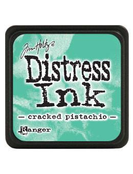 Tim Holtz Mini Distress® Ink Pad Cracked Pistachio Mini Ink Pad Tim Holtz