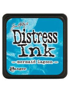 Tim Holtz Mini Distress® Ink Pad Mermaid Lagoon Mini Ink Pad Tim Holtz