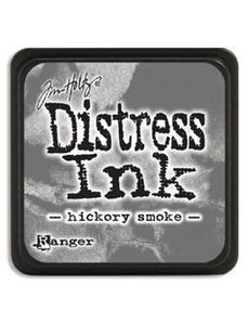 Tim Holtz Mini Distress® Ink Pad Hickory Smoke Mini Ink Pad Tim Holtz