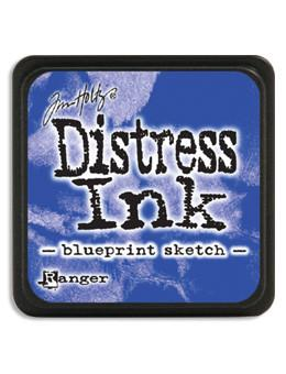 Tim Holtz Mini Distress® Ink Pad Blueprint Sketch Mini Ink Pad Tim Holtz