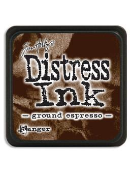 Tim Holtz Mini Distress® Ink Pad Ground Espresso Mini Ink Pad Tim Holtz