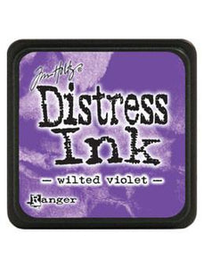 Tim Holtz Mini Distress® Ink Pad Wilted Violet Mini Ink Pad Tim Holtz