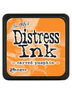 Tim Holtz Mini Distress® Ink Pad Carved Pumpkin Mini Ink Pad Tim Holtz
