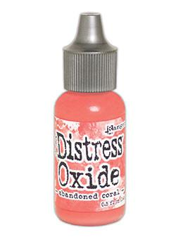 Tim Holtz Distress® Oxide® Re-Inker Abandoned Coral, 0.5oz Re-Inker Tim Holtz