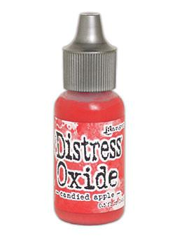 Tim Holtz Distress® Oxide® Re-Inker Candied Apple, 0.5oz Re-Inker Tim Holtz