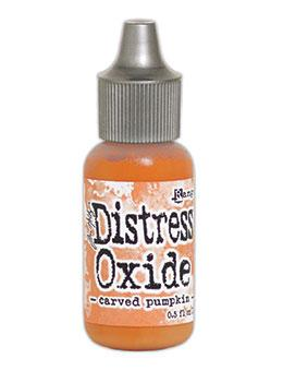 Tim Holtz Distress® Oxide® Re-Inker Carved Pumpkin, 0.5oz Re-Inker Tim Holtz
