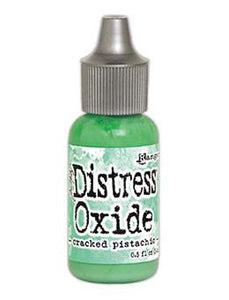 Tim Holtz Distress® Oxide® Re-Inker Cracked Pistachio, 0.5oz Re-Inker Tim Holtz