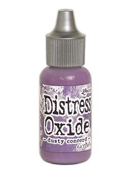 Tim Holtz Distress® Oxide® Re-Inker Dusty Concord, 0.5oz Re-Inker Tim Holtz