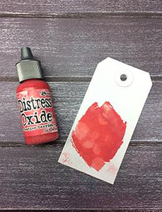 Tim Holtz Distress® Oxide® Re-Inker Abandoned Festive Berries, 0.5oz Re-Inker Tim Holtz