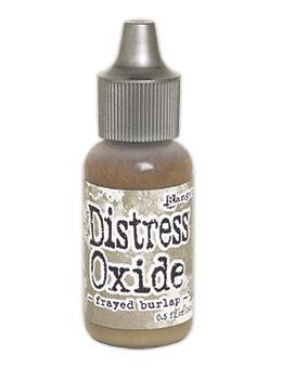 Tim Holtz Distress® Oxide® Re-Inker Frayed Burlap, 0.5oz Re-Inker Tim Holtz