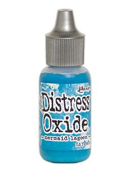 Tim Holtz Distress® Oxide® Re-Inker Mermaid Lagoon, 0.5oz Re-Inker Tim Holtz