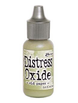 Tim Holtz Distress® Oxide® Re-Inker Old Paper, 0.5oz Re-Inker Tim Holtz