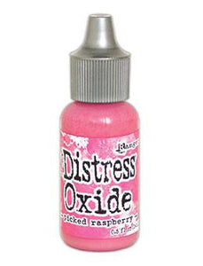 Tim Holtz Distress® Oxide® Re-Inker Picked Raspberry, 0.5oz Re-Inker Tim Holtz