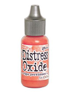 Tim Holtz Distress® Oxide® Re-Inker Ripe Persimmon, 0.5oz Re-Inker Tim Holtz