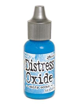 Tim Holtz Distress® Oxide® Re-Inker Salty Ocean, 0.5oz Re-Inker Tim Holtz