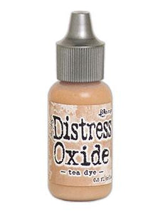 Tim Holtz Distress® Oxide® Re-Inker Tea Dye, 0.5oz Re-Inker Tim Holtz