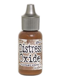 Tim Holtz Distress® Oxide® Re-Inker Vintage Photo, 0.5oz Re-Inker Tim Holtz