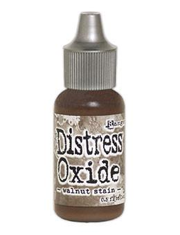 Tim Holtz Distress® Oxide® Re-Inker Walnut Stain, 0.5oz Re-Inker Tim Holtz
