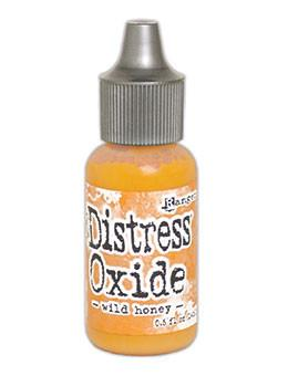 Tim Holtz Distress® Oxide® Re-Inker Wild Honey, 0.5oz Re-Inker Tim Holtz