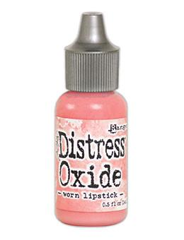 Tim Holtz Distress® Oxide® Re-Inker Worn Lipstick, 0.5oz Re-Inker Tim Holtz