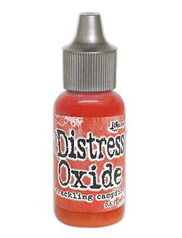 Tim Holtz Distress® Oxide® Ink Pad Re-Inker Crackling Campfire 0.5oz Ink Distress