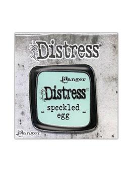 Tim Holtz Distress® Speckled Egg Enamel Pin Pin Distress